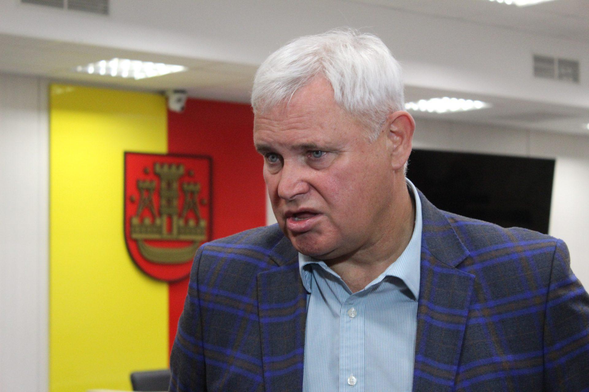 Vytautas Grubliauskas nemato reikalo atsiprašyti klaipėdiečių