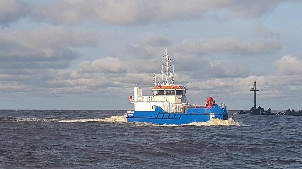 Klaipėdos uosto laivybos saugumą užtikrins naujas laivas