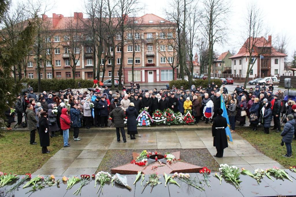 Rusakalbiai Klaipėdoje švenčia miesto