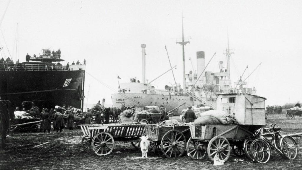 Piliavos uoste likęs pabėgėlių turtas.