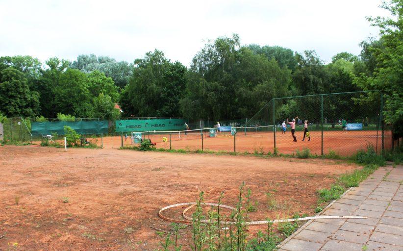Konservatorė sustabdė teniso kortų statybas