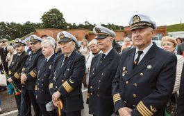 Pagerbti jūrininkai ir uosto bendruomenės atstovai